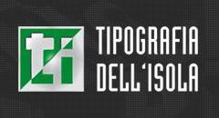 logo tipografia dellisola